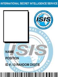 ISIS Badge BLANK