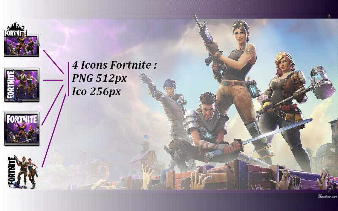 Fortnite Icon Ico - Fortnite Battle Royale Hack Pc Download