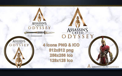 Icons Assassin's Creed Odyssey PNG and ICO