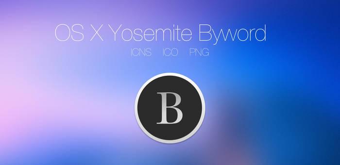 OS X Yosemite Byword
