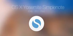 OS X Yosemite Simplenote