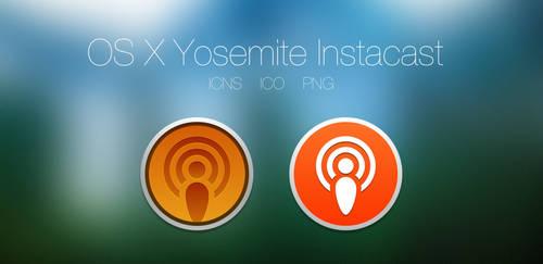 OS X Yosemite Instacast