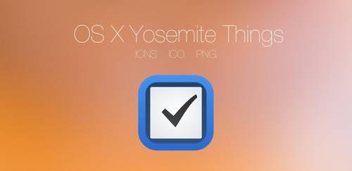 OS X Yosemite Things