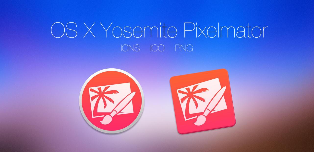 OS X Yosemite Pixelmator by PTT69BIO
