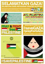 Stiker Save Palestine
