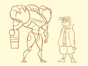 Quick Animation: Metroid Hat