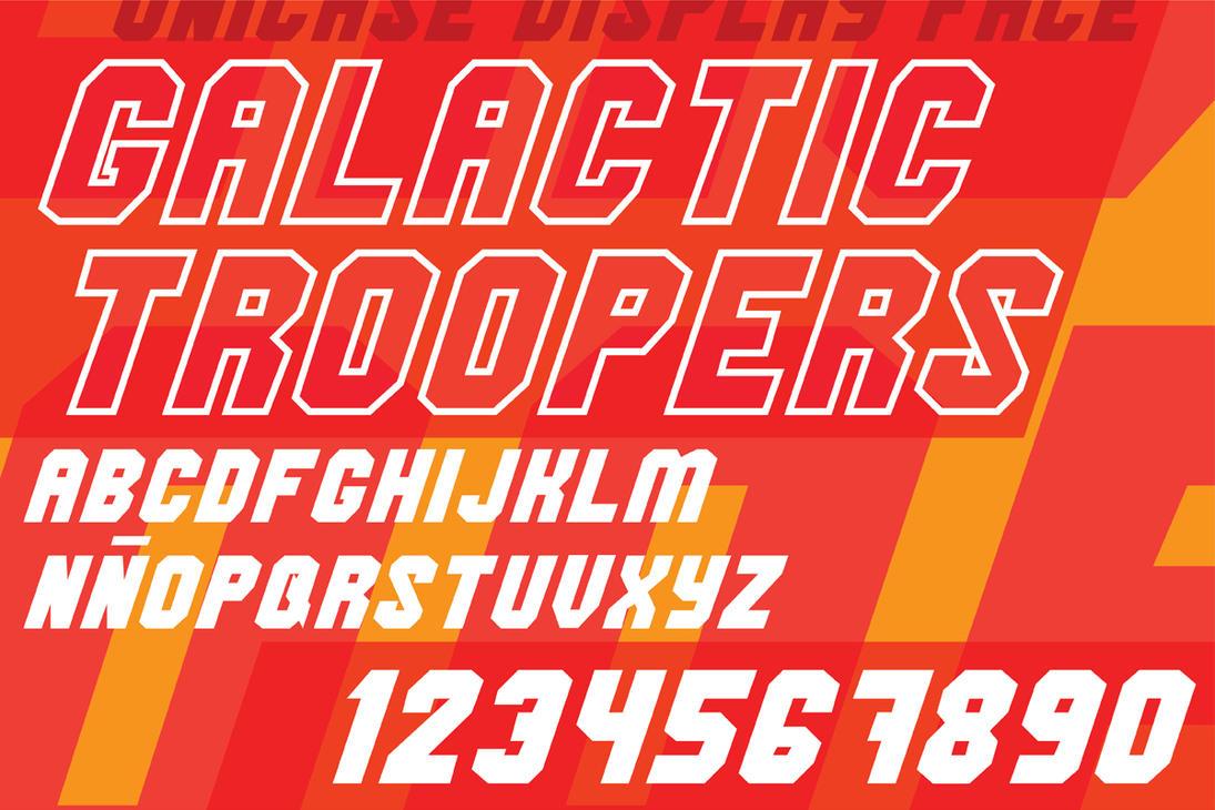 Galactic Troopers by tetramegistus