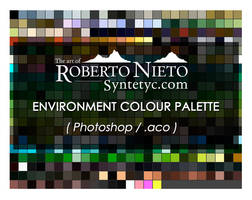 Syntetyc colour palette - (Photoshop .aco) by Syntetyc