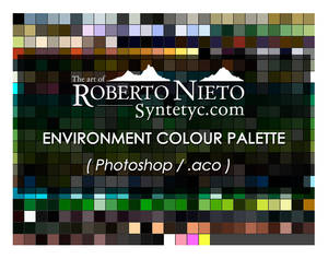 Syntetyc colour palette - (Photoshop .aco)