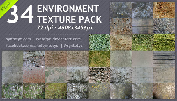 -FREE- 34 Environment Textures