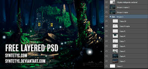 Mistery - FREE PSD LAYERED FILE
