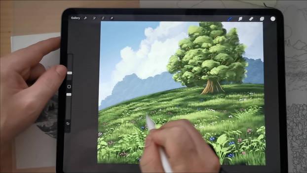 Video tutorial demo 01. Premium Vegetation Brushes