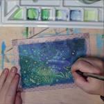 Lindenshield art challenge - Gouache video process