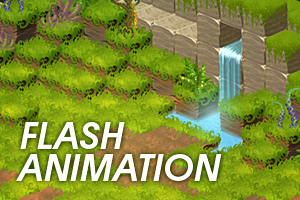 Cubic Jungle - flash animation by freelancerart