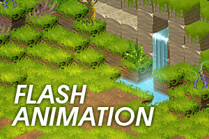Cubic Jungle - flash animation
