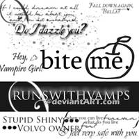 Twilight Brushes Set 2 by runswithvamps