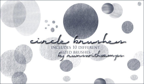 Circle Brushes by runswithvamps