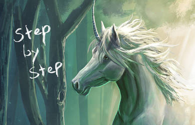 Unicorn - Step by Step by FleetingEmber