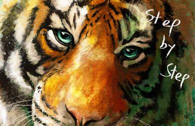 Tiger Eyes Process by FleetingEmber