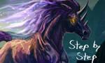 Dark Unicorn Step by Step