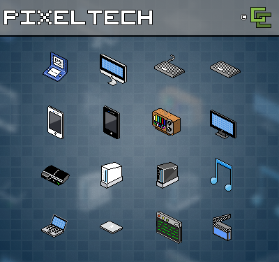 PixelTech Vol. 1 by gcalcagno