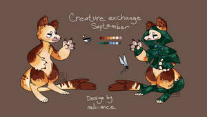 creature exchange - tree rogue by radiiiance
