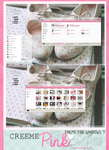 Creeme{pink} theme for windows 7