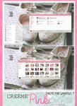 Creeme{pink} theme for windows 7