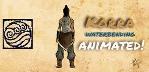 Rough Korra Animation