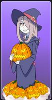 Sucy Manbavaran and Her Pumpkins