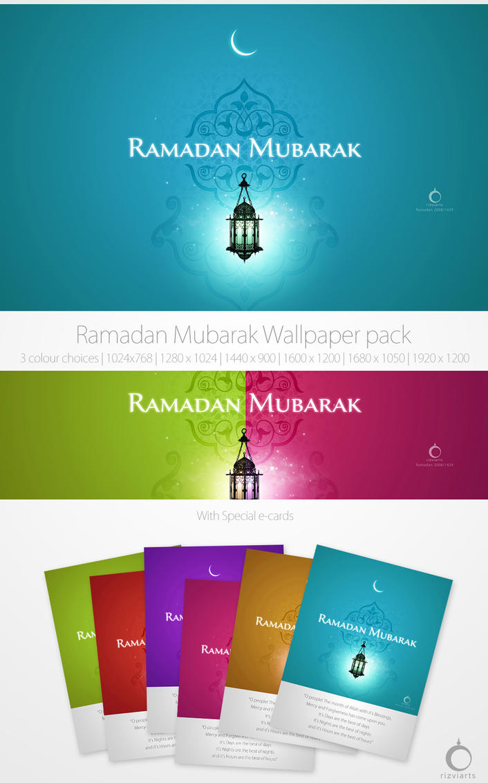 Ramadan Wallpaper Pack by rizviGrafiks