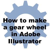 Illustrator Tut: Gear Wheel by surgio