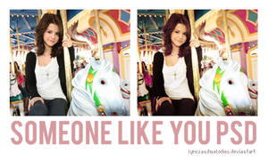 Someone Like You PSD. by lyricsandmelodies