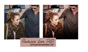 Radiate Love PSD by lyricsandmelodies