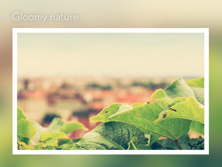 Gloomy nature by kingmoeha