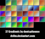37 Gradients by DSOM