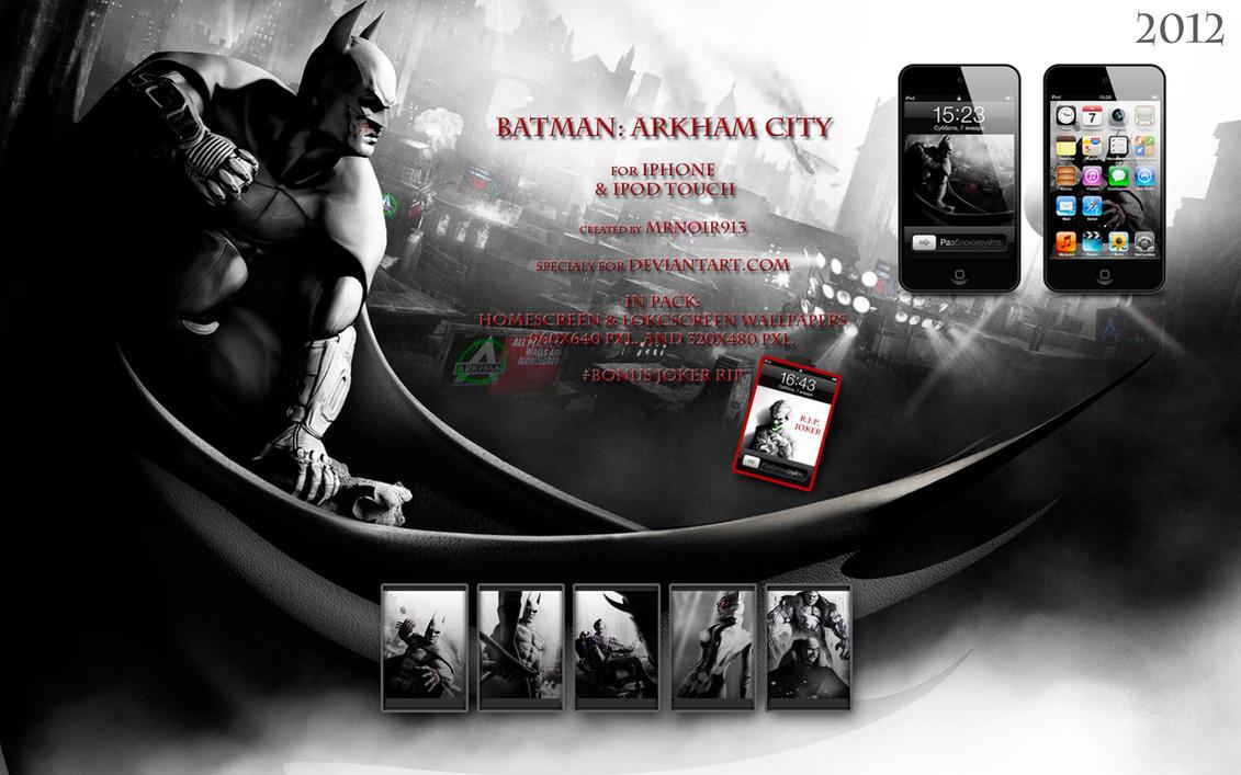 batman - arkham city wallpapersmrnoir913 on deviantart