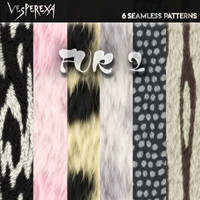 Seamless Fur Textures Pack 2 by Vesperexa