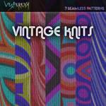 Vintage Knit Seamless Patterns