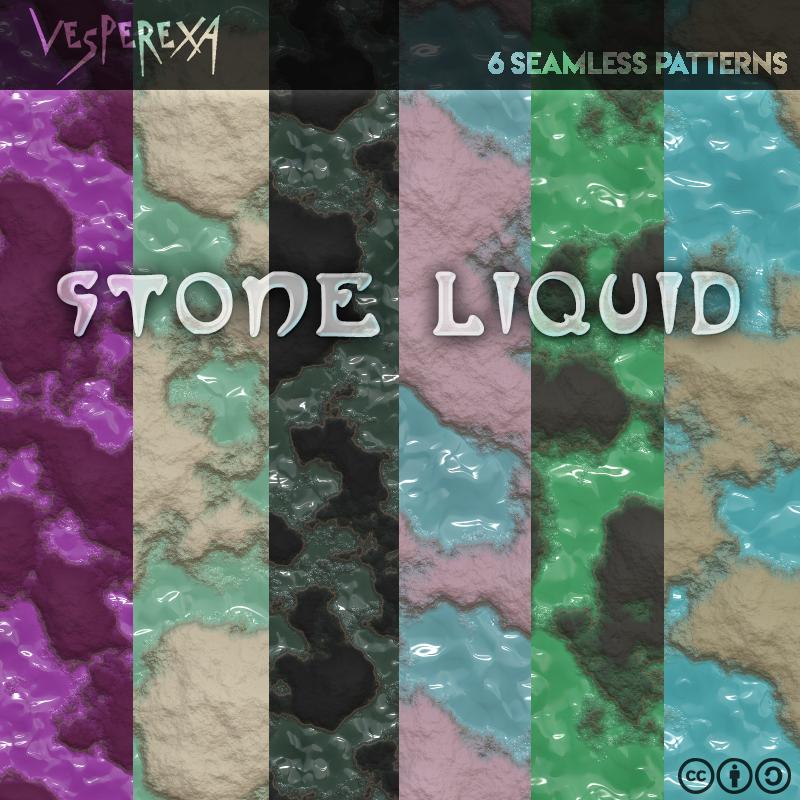 Stone Liquid Patterns by Vesperexa