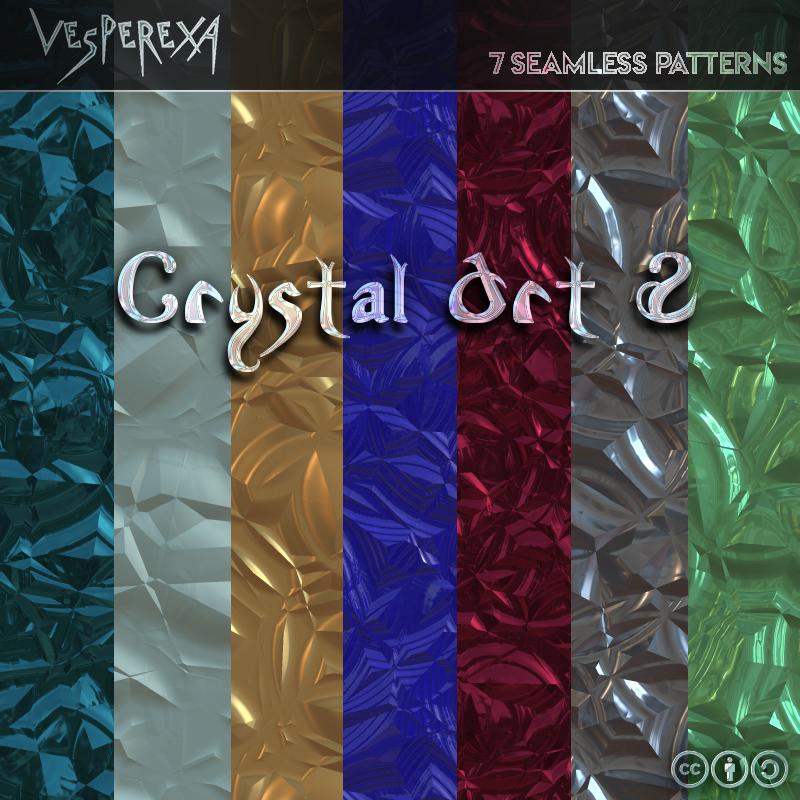 Crystal Art Patterns 2 by Vesperexa