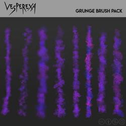 Grunge Brushes by Vesperexa by Vesperexa