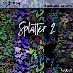 Splatter Patterns 2 by Vesperexa by Vesperexa