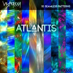 Atlantis Patterns by Vesperexa by Vesperexa