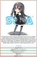 Sega Chibi Journal Skin