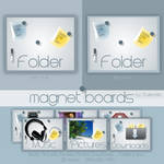 magnet board Icons