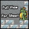 King Koopa Sheet