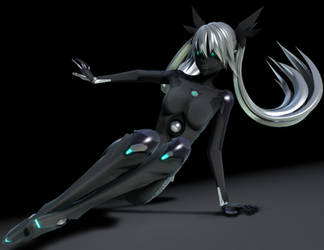 [MMD] Carbon Miku pose no DL by Redoxygene