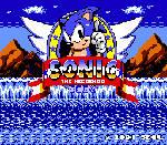 Sonic The Hedgehog - NES Title Screen (GIF)