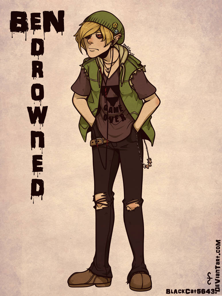 Ben Drowned Street Clothes By Blackcat5643 On Deviantart